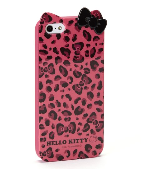 ee1ee8df9 love this product Pink Leopard Hello Kitty Case for iPhone 5