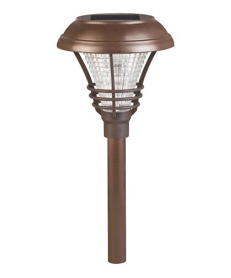 Idc Bronze Kenbury Solar Path Light Set Of Six Zulily