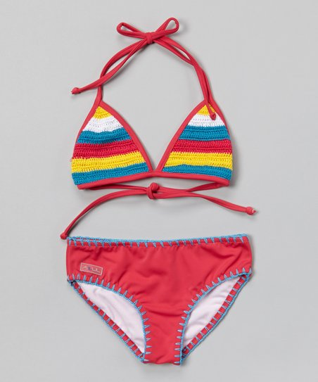 Azul Pink Hippie Hippie Shake Triangle Bikini