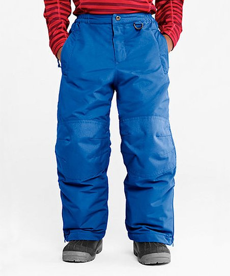 8386bb464 Lands  End Blue Squall Waterproof Snow Pants - Toddler   Boys