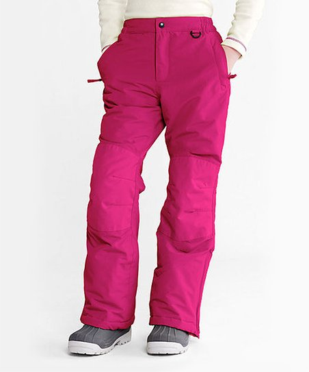 0cb361a5f79e Lands End Bright Magentanta Waterproof Squall Snow Pants - Toddler ...