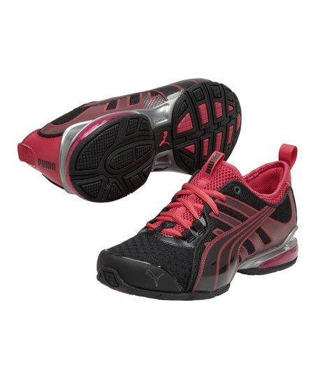 e3b24f3ff1e6 PUMA Black   Virtual Pink Voltaic 4 Fade Running Shoe - Women