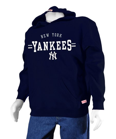 san francisco 2bf5e 7a9f4 Stitches Athletic Gear Navy New York Yankees Hoodie - Boys