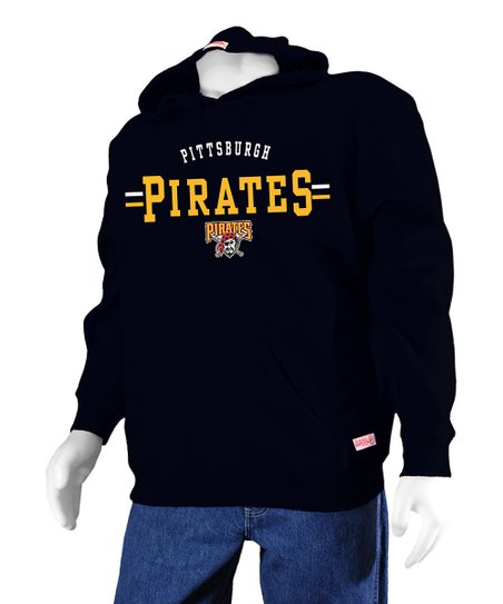 Stitches Athletic Gear Black Pittsburgh Pirates Hoodie Boys Zulily