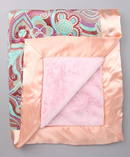 luxe pink velour madison stroller blanket best price and reviews zulily zulily