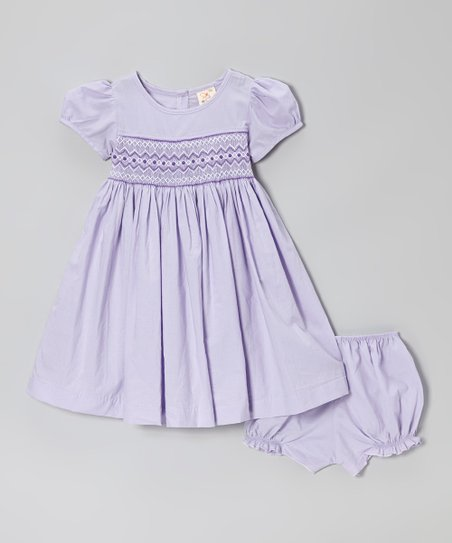 32f31a1e8c7a the Silly Sissy Lavender Smocked Dress   Bloomers - Infant   Toddler ...