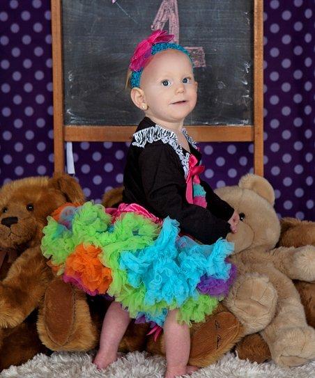 a6cf950441 Diva Daze Hot Pink Rainbow Pettiskirt - Infant, Toddler & Girls | Zulily