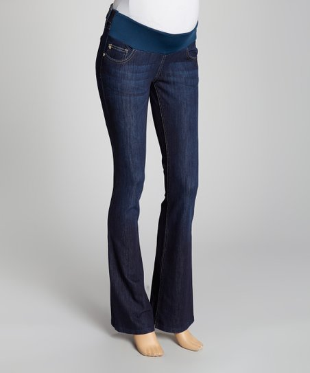8894ee40c05ef DL1961 Ios Milano Under-Belly Maternity Bootcut Jeans | Zulily