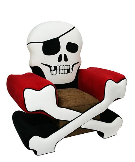 Prime Magical Harmony Kids Red Skull Chair Zulily Pabps2019 Chair Design Images Pabps2019Com