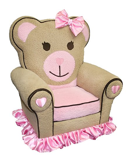 Superb Magical Harmony Kids Pink Ballerina Bear Chair Pabps2019 Chair Design Images Pabps2019Com