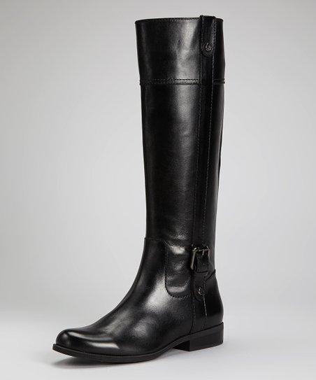 ea912fdcb83 Anne Klein Black Ciji Wide Calf Boot