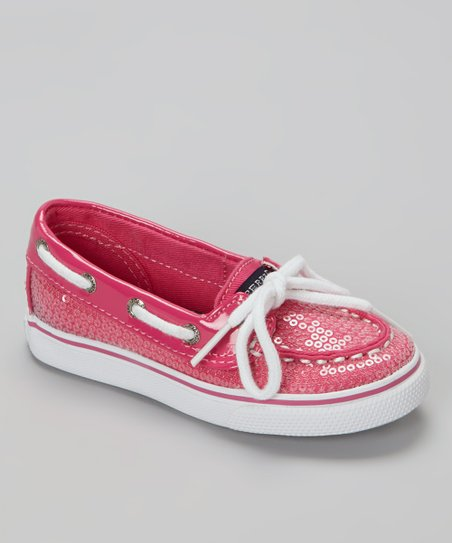 Sperry Top-Sider Hot Pink Sequin