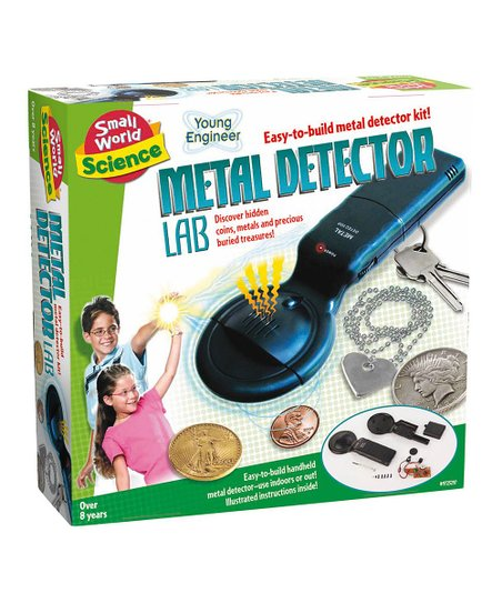 Small World Toys Metal Detector Lab Kit Zulily
