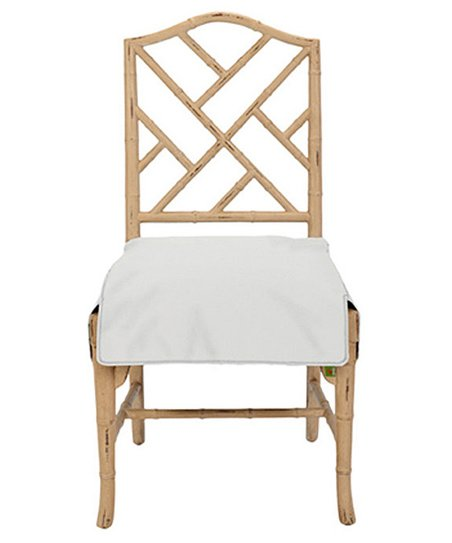 Fabulous Messy Marvin Ivory Neat Seat Chair Cover Gmtry Best Dining Table And Chair Ideas Images Gmtryco