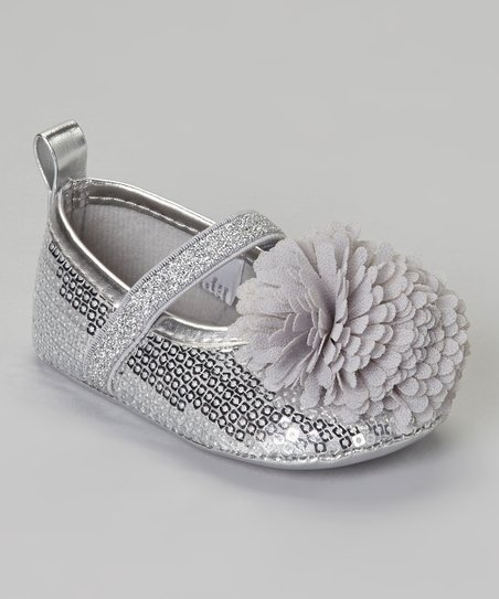 fdfe96cd004f love this product Silver Sequin Flower Flat