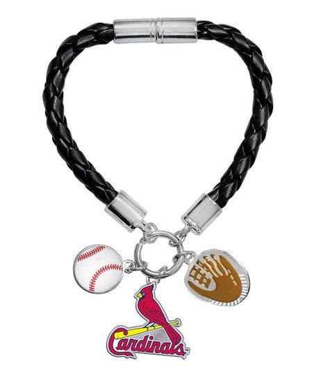 Mlb St Louis Cardinals Charm Bracelet
