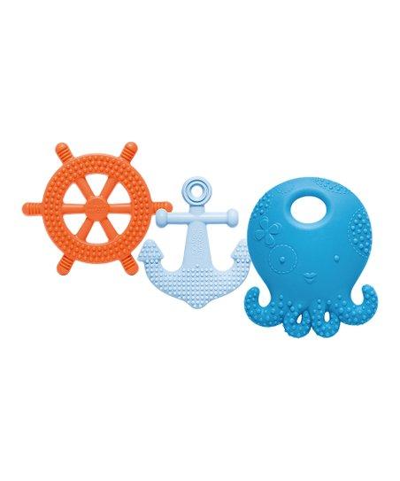 Mayapple Baby Blueberry Suri the Octopus   Friends Teething Toy Set ... 5cdf99621