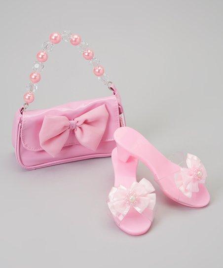 72616176377cc My Princess Academy Pink Princess Playtime Shoes & Purse