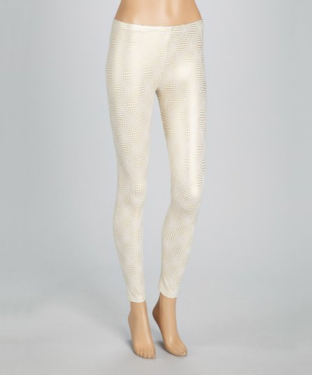 Diamond White Usa >> In Usa Diamond White Glitter Leggings