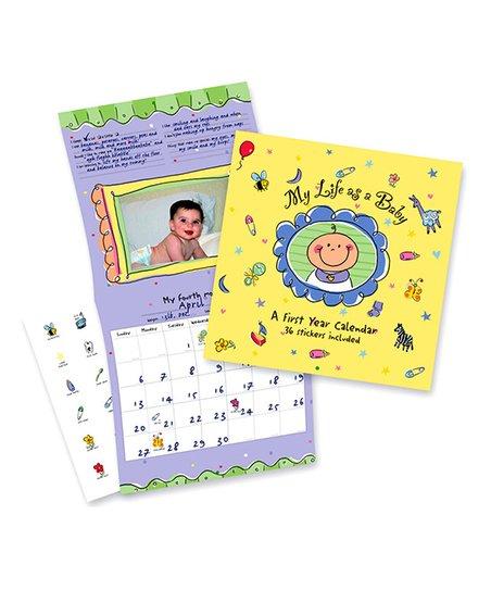 Peter Pauper Press My Life As A Baby First Year Calendar Album Zulily