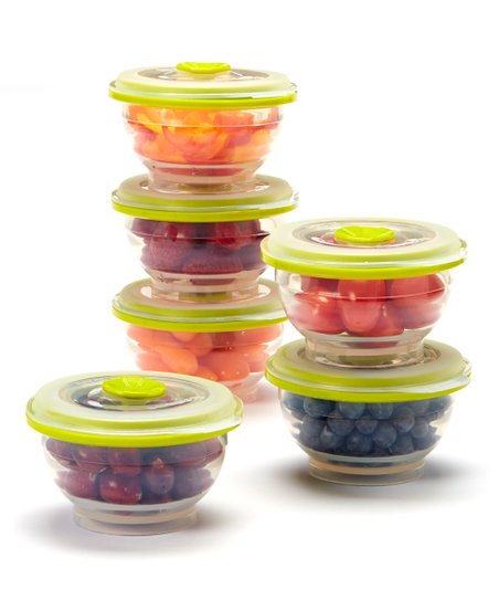 Charmant Collapse It 1 Cup Food Storage Container   Set Of Six