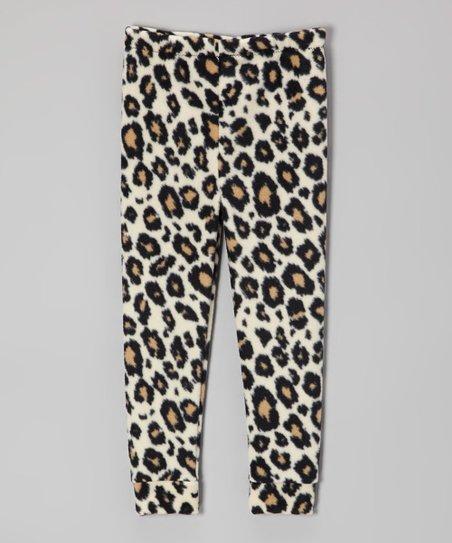 dabcc87a304a3 LittleVMen White Leopard Leggings - Infant & Toddler   Zulily