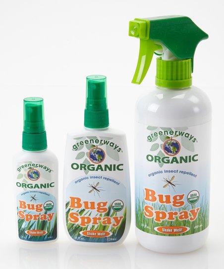 Greener Days Organic Bug Spray Set