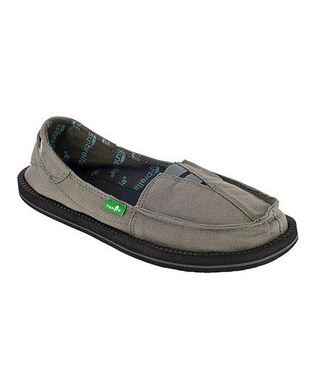Sanuk Gray Castaway Sunbrella Slip-On Shoe - Women  01a76b603