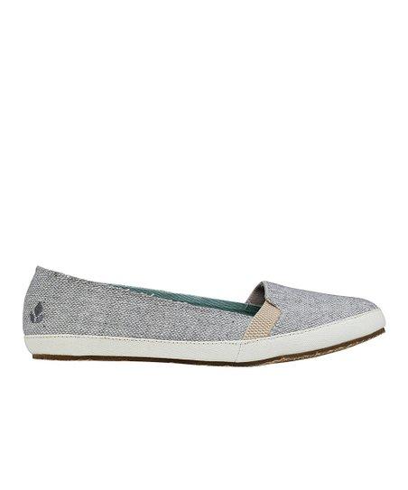 REEF Light Gray Summer Slip-On Shoe