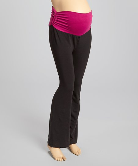 c384e44654d love this product Black Over-Belly Maternity Yoga Pants