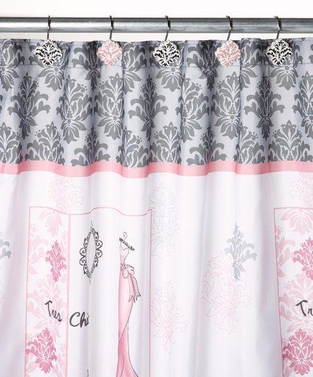 Saturday Knight Diva Shower Curtain Hook Set