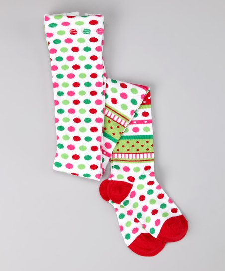 eae2ba0b0d2 love this product Red   Green Christmas Tights - Infant