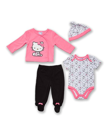 621db6f5a love this product Pink Hello Kitty Layette Set - Infant