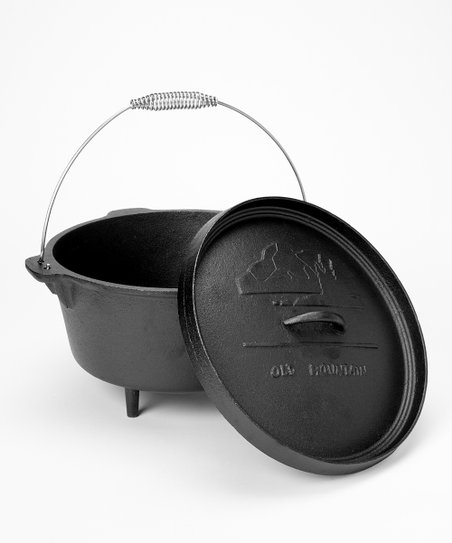 8 Qt Cast Iron Dutch Oven