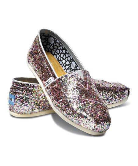 TOMS Bright Multi Glitter Classics
