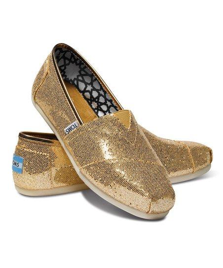 TOMS Rose Gold Glitter Classics   Best