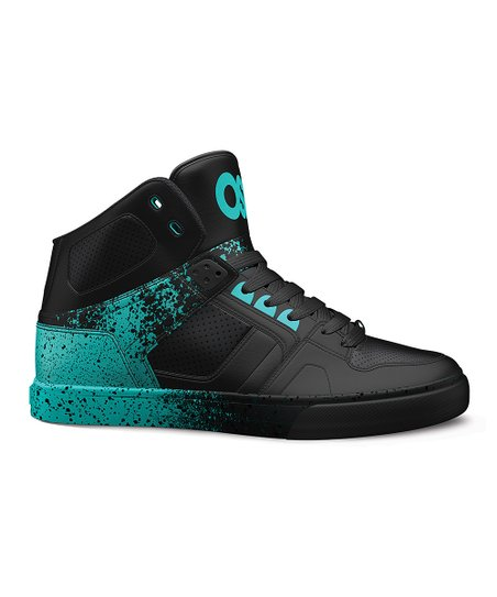 NYC 83 Leather High-Top Sneaker - Kids