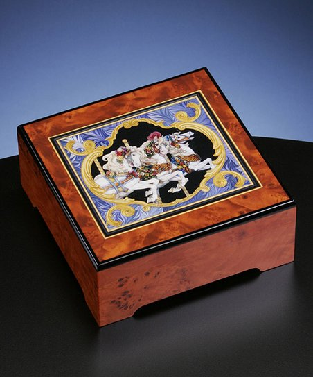 The San Francisco Music Box Company Carousel Horse Musical Jewelry