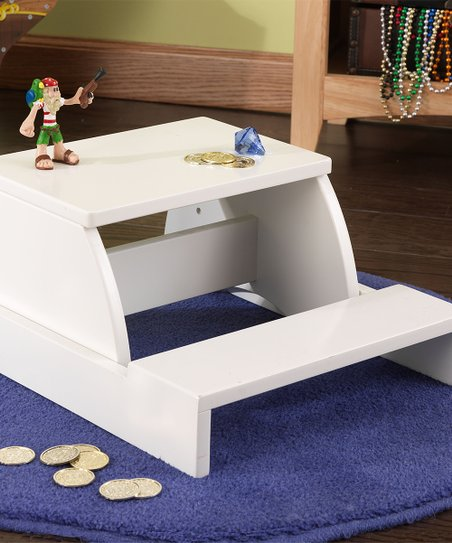 Awe Inspiring Kidkraft White Step Stool Gmtry Best Dining Table And Chair Ideas Images Gmtryco
