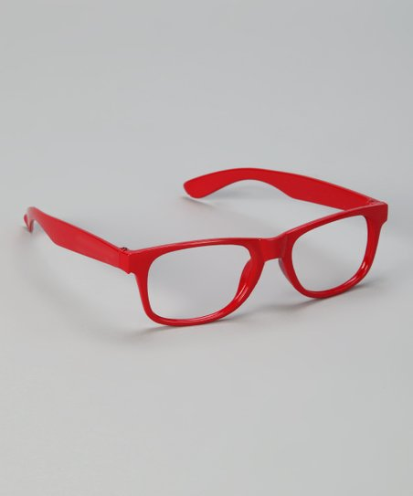 efad5e39f704 Snuggle luv red thick rimmed glasses zulily jpg 452x543 Red rimmed glasses