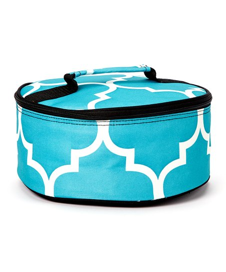 Expect Personality Blue Round Insulated Casserole Carrier