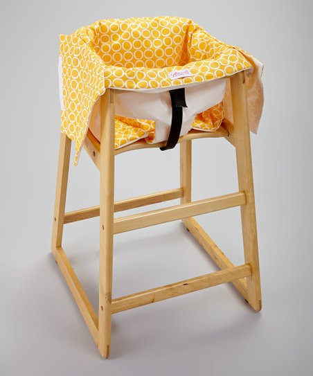 Smitten Baby Canary Restaurant High Chair Swing Cover Zulily