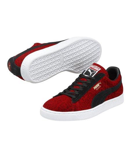 PUMA Haute Red Suede Animal Sneaker Men | Zulily