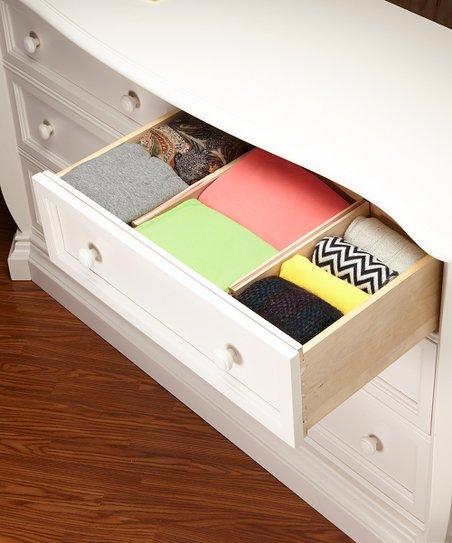 Cedar Expandable Dresser Drawer Divider   Set Of Two