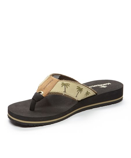 8f8b1021c love this product Sand   Black Breezy Flip-Flop - Women