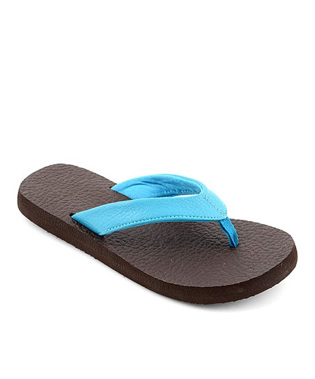 1211cafdcdfc96 Corkys Footwear Turquoise Exercise Flip-Flop