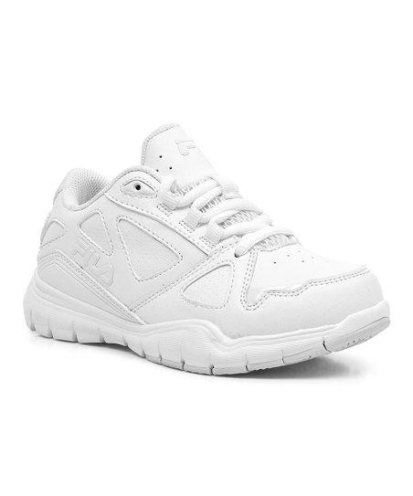 FILA White Side By Side Sneaker Boys Zulily  Zulily