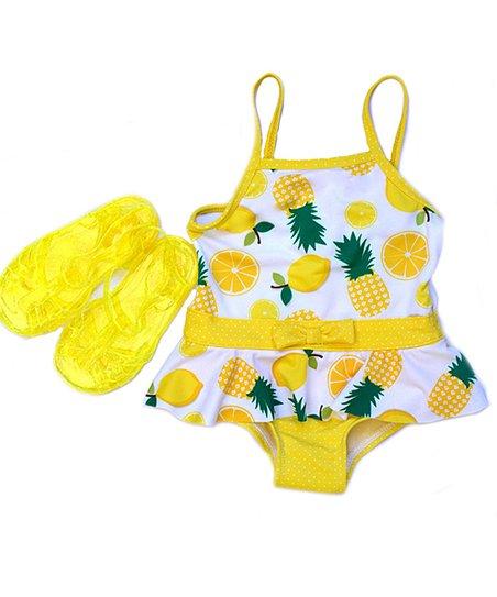 Wippette Poppy Pineapple One-Piece