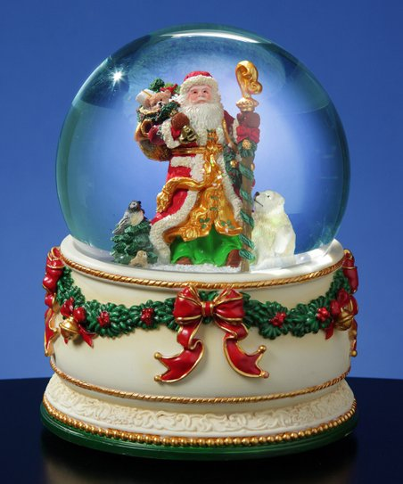 Christmas Journey Musical Snow Globe