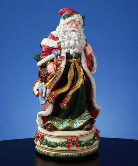 Father Christmas Musical Figurine